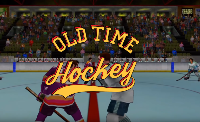 old time hockey-home