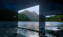TV BRAVIA OLED di Sony presentato con un misterioso spot immerso nella natura