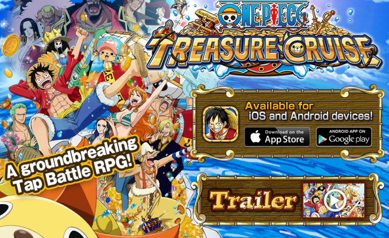 one piece treasure cruise ios android smartphone italia