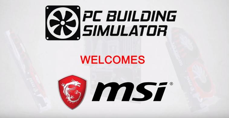 pc building simulator MSI