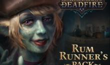 "Pillars of Eternity II: Deadfire, ecco il free DLC ""Rum Runner's Pack"""
