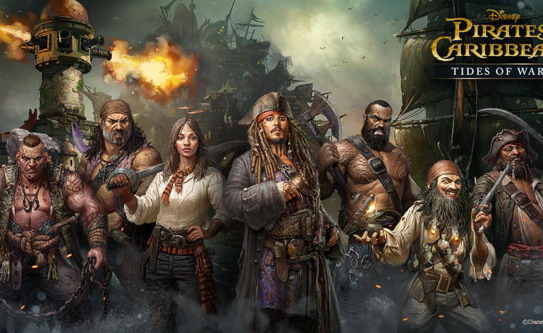 pirati dei caraibi tides of war mobile