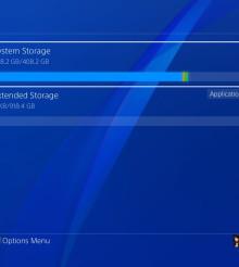 PS4, ecco l'aggiornamento del software 4.50 SASUKE: Personalizzazione, disco fisso esterno e altre specifiche