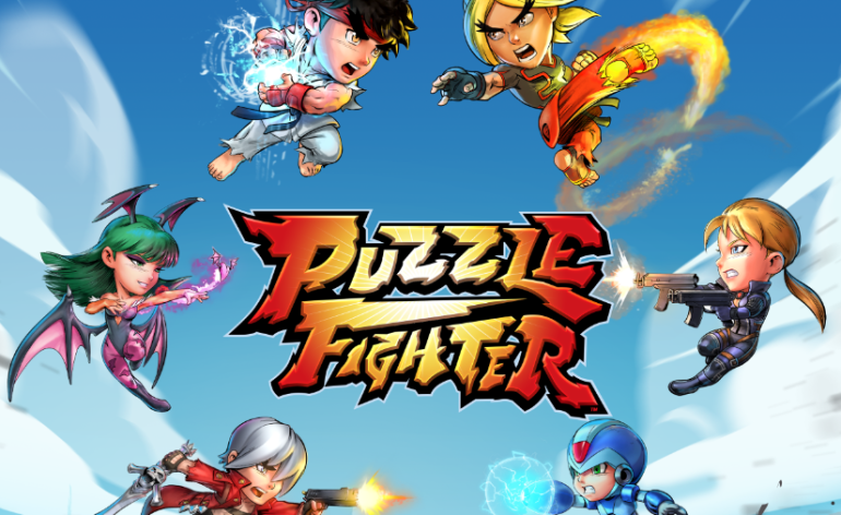 puzzle fighter capcom