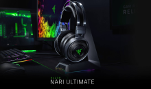 RAZER Nari Ultimate, le cuffie gaming wireless con Aptica intelligente Hypersense