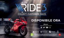 RIDE 3 :Presentato il nuovo titolo in uscita su PS4, XB1 e PC