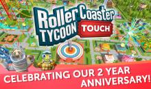 RollerCoaster Tycoon Touch celebra il secondo anniversario con novità e contenuti in-game