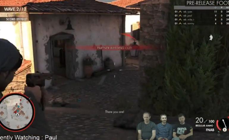 sniper elite 4 gameplay lets play