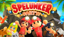 SPELUNKER PARTY è disponibile da oggi per console Nintendo Switch e su Steam