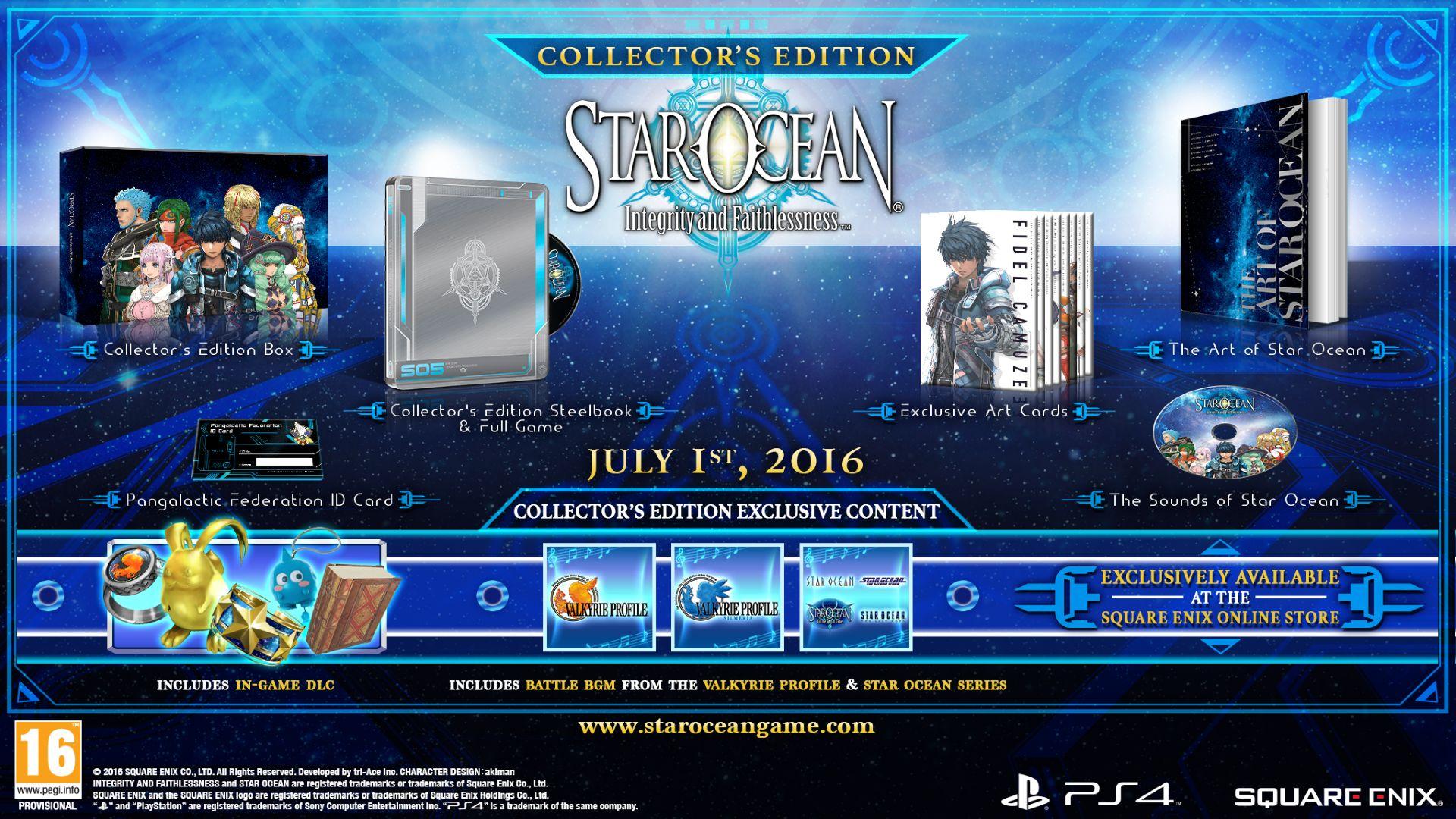starocean ps4 luglio 2016