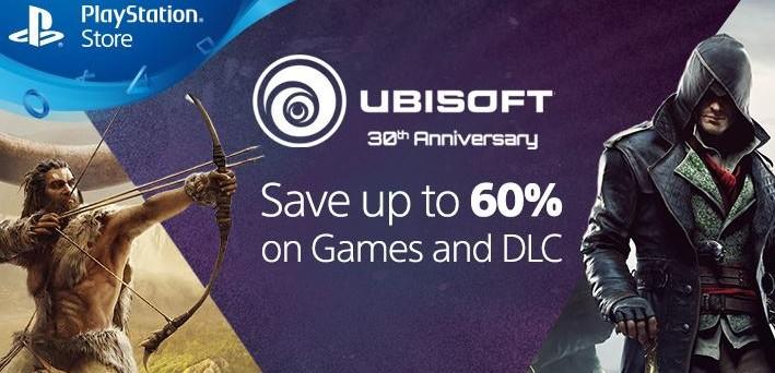 ubisoft-30-anniversario-sconti-oltre-60-percento-playstation