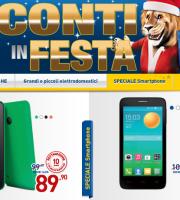 volantino euronics smartphone tablet smart tv samsung apple hp offerte natale novembre dicembre 2014