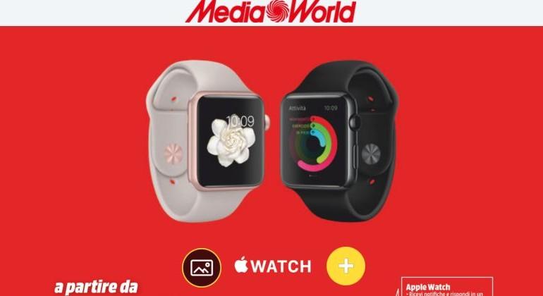 volantino mediaworld da 17 al 24 dicembre 2015 iWatch samsung smartphone lg huawei