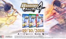 Warriors Orochi 4: in arrivo il prossimo Ottobre – Video e novità