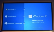 Windows 10 l'aggiornamento è gratis per PC e Smartphone, con il S.O. 7, 8 e 8.1: ufficiale da Microsoft