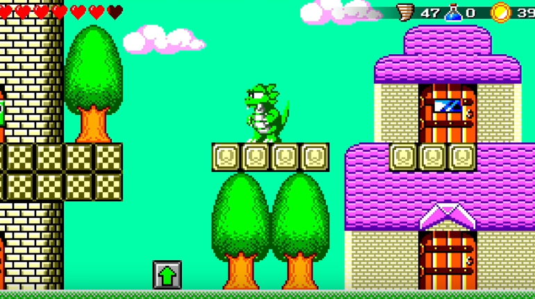 wonder boy the dragon s trap_retro