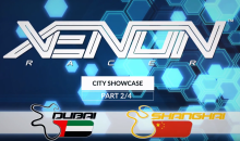 "Xenon Racer: mostrate le ""City of Gold"" Dubai e Shangai"