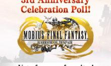 MOBIUS FINAL FANTASY, per il terzo anniversario arriva la collaborazione con Final Fantasy VIII