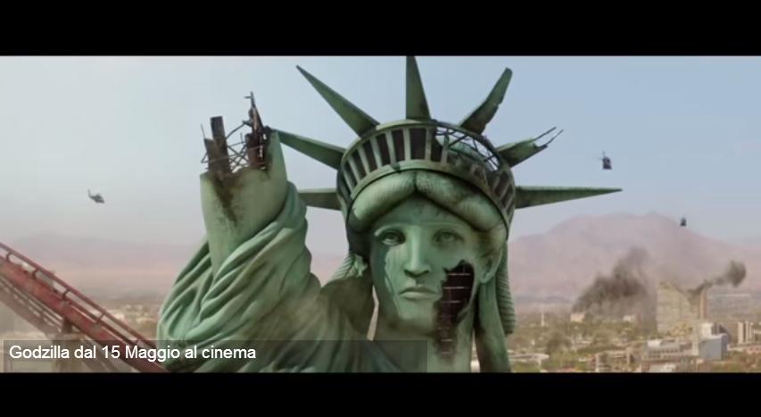 GODZILLA 3D OGGI 15 MAGGIO IN ITALIA VIDEO YOUTUBE TRAILER