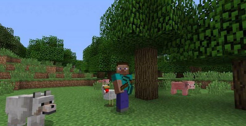 minecraft disponibile su PS3 PS4 PC Microsoft Xbox One Xbox 360 Mac iOS Android