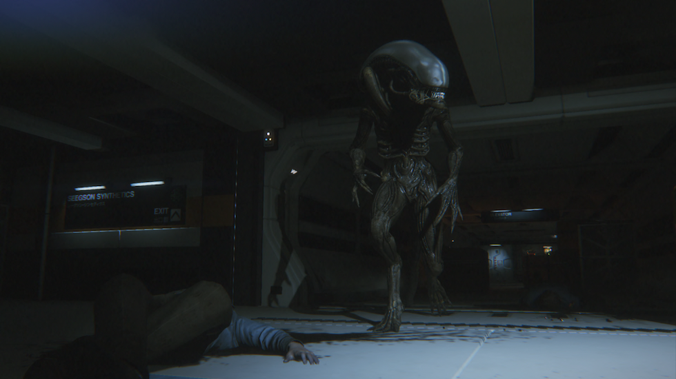 screenshot alien isolation pc game 2