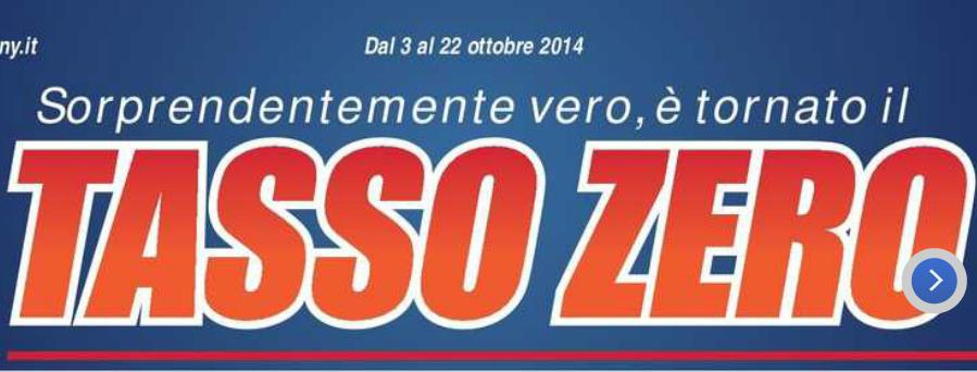 volantino trony offerte dal 3 al 22 ottobre 2014