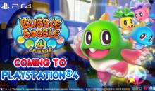 Bubble Bobble 4 Friends arriverà su PlayStation 4 e festeggerà con un Fan Art Contest