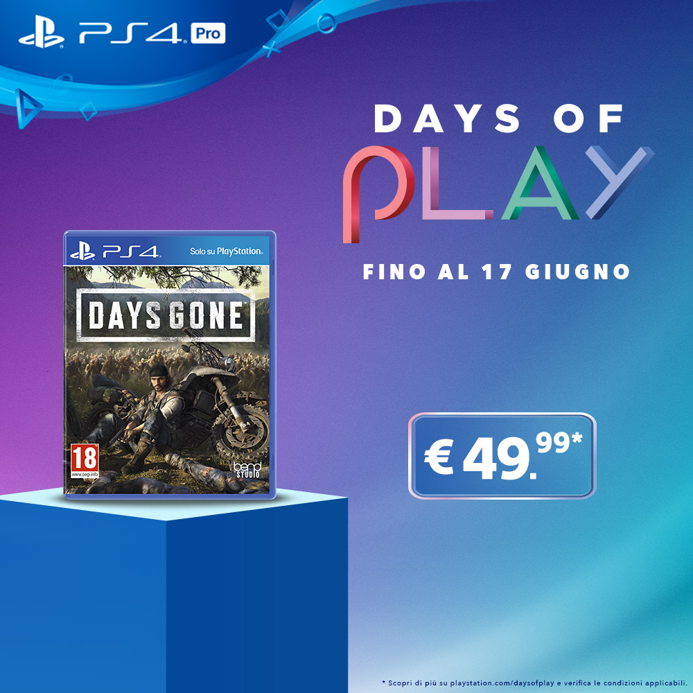 Days of Play_Days Gone