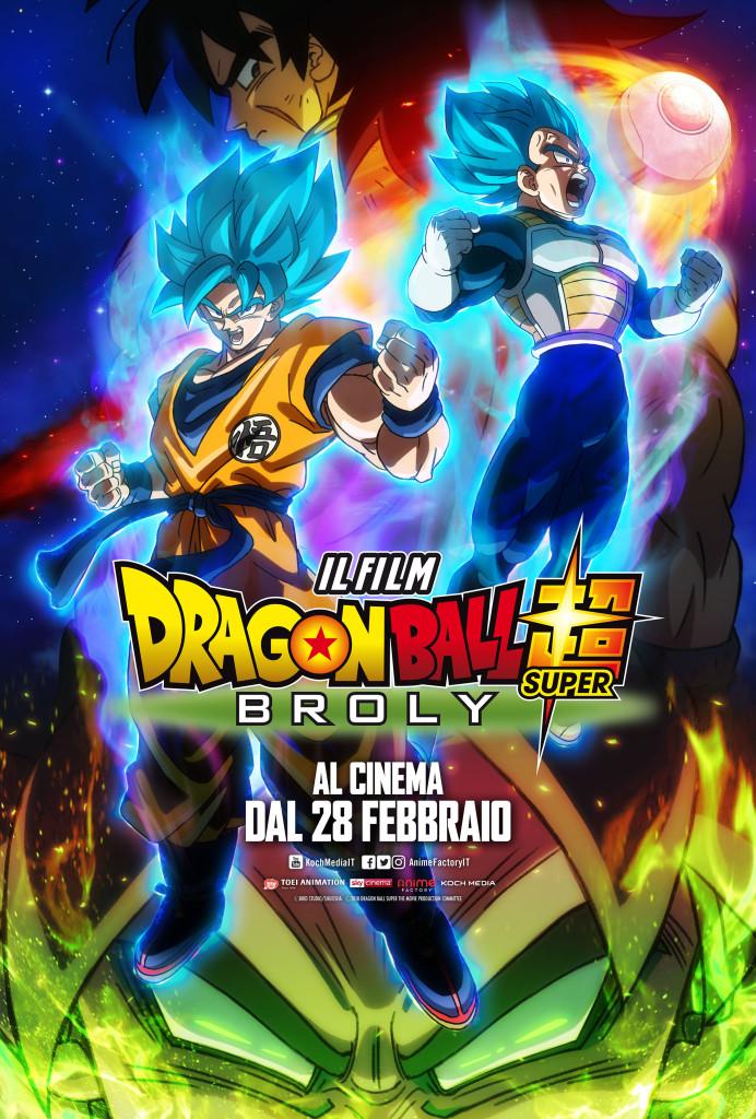 Dragon Ball Super Broly - Poster Ufficiale Italiano