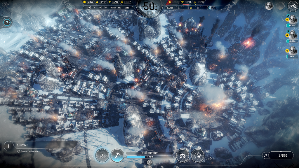 Frostpunk Endless Mode - screenshot01