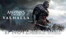Assassin's Creed Valhalla, data d'uscita annunciata con un nuovo video