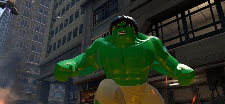 LEGO Marvels AvengersE3 2015Hulk V2