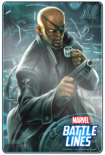 MARVEL Battle Lines_Nick Fury