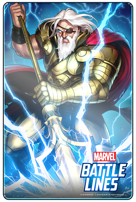 MARVEL Battle Lines_Odin