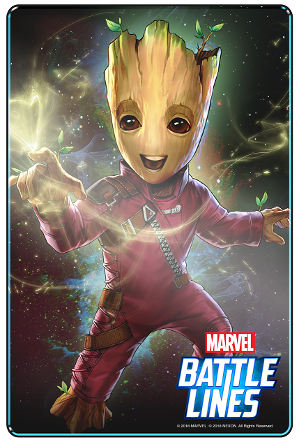 Marvel Battle Lines_Baby Groot