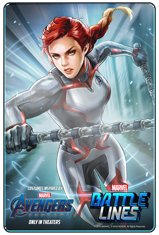 Marvel Battle Lines_Black Widow