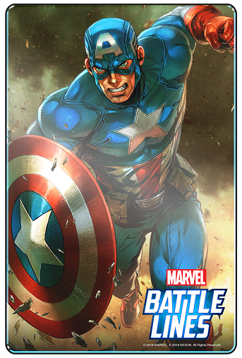 Marvel Battle Lines_CaptainAmerica