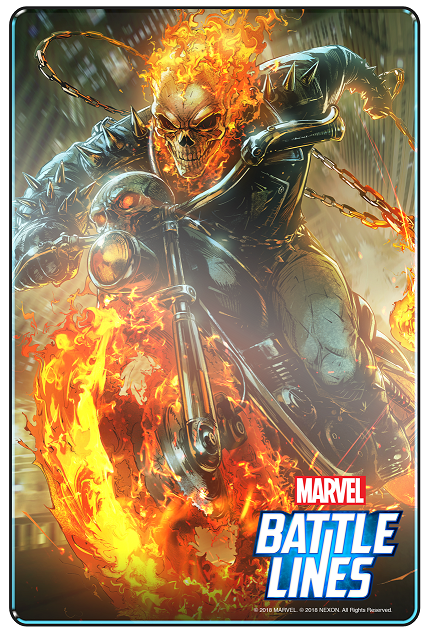 Marvel Battle Lines_Ghost Rider