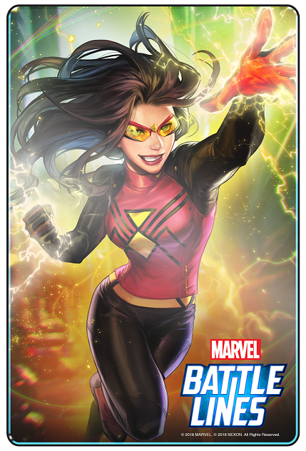 Marvel Battle Lines_SpiderWoman