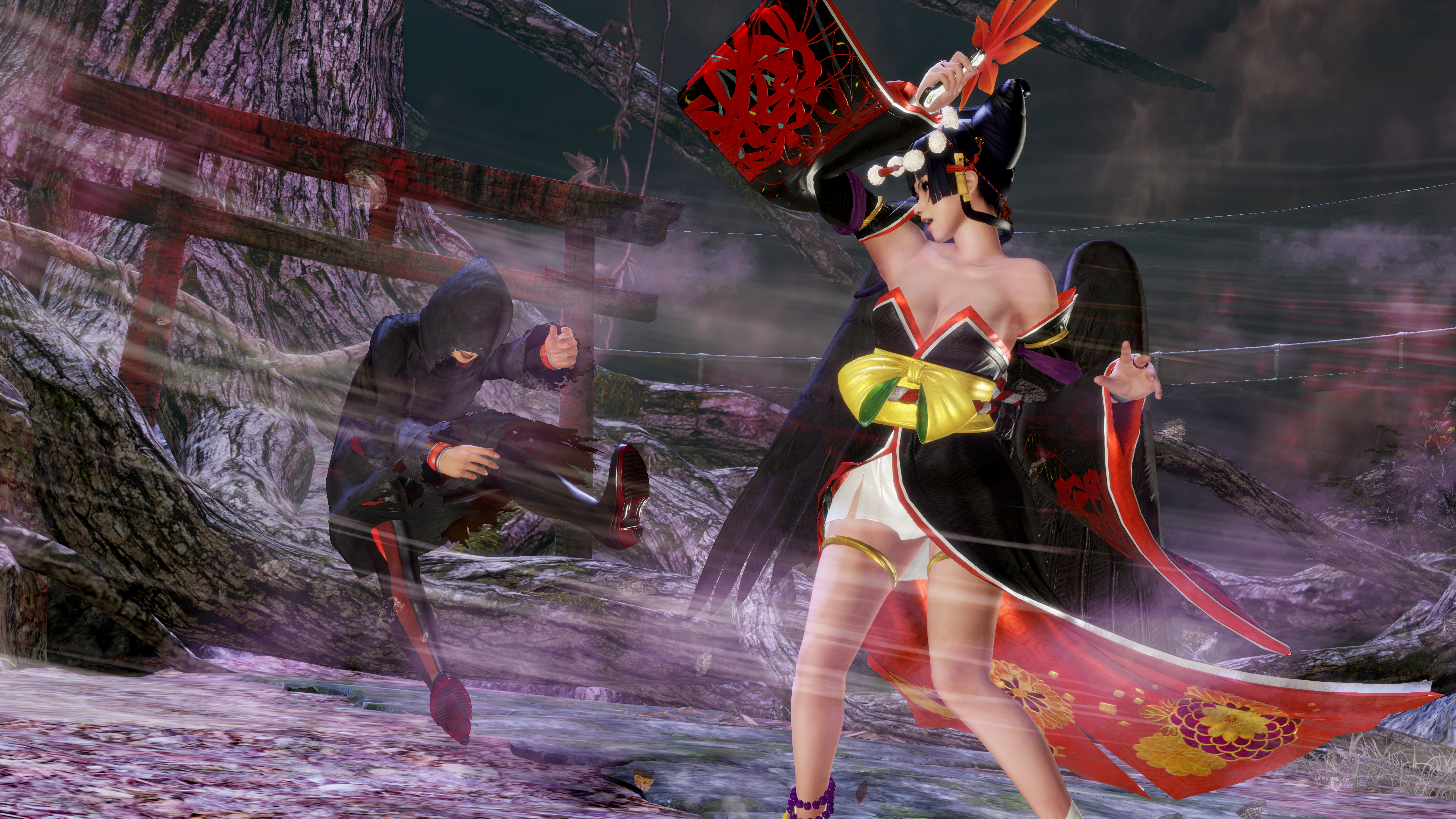 Nyotengu_Fight_01