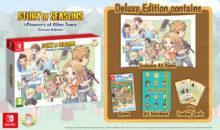 L'edizione Deluxe di STORY OF SEASONS: Pioneers of Olive Town per Nintendo Switch è disponibile