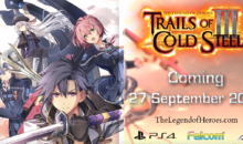 The Legend of Heroes: TRAILS OF COLD STEEL III, nuovo video trailer