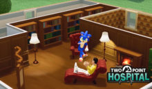 L'evento crossover definitivo – Sonic incontra Two Point Hospital