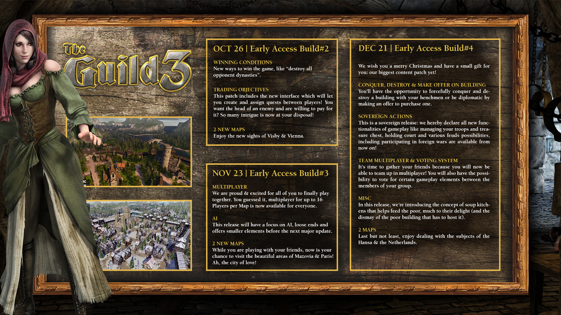 The Guild 3 Early Access Roadmap