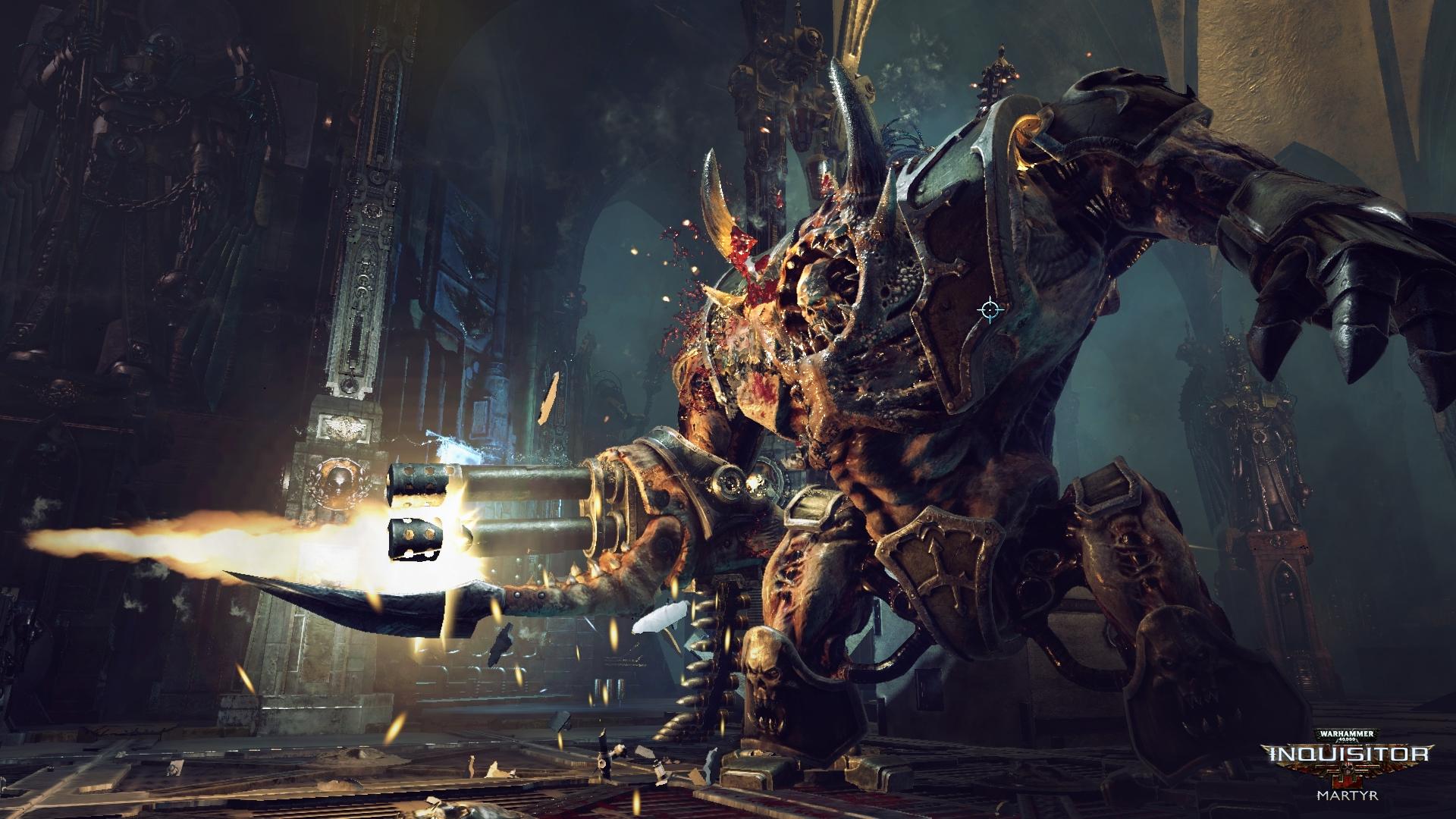 W40K_Inquisitor_Screenshot_Hellbrute_firefight_logo
