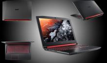 Acer Nitro 5: Il nuovo notebook gaming presentato al CES 2018
