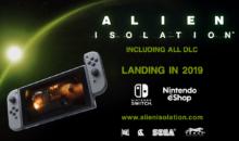 Alien: Isolation, novità e gameplay per la versione Nintendo Switch