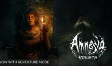 Amnesia: Rebirth ottiene la Adventure Mode su Steam, GOG ed Epic Store
