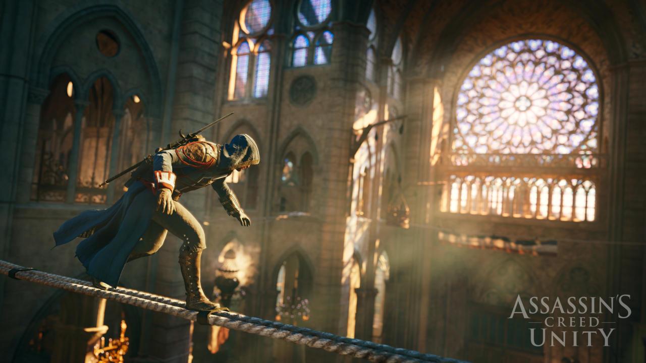 assassins creed unity ps4 xbox one uscita 11 novembre potenza di gioco