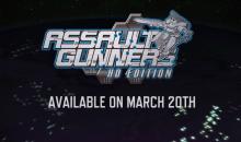 Assault Gunners HD Edition: I robot in azione arrivano il prossimo 20 marzo su PS4 e PC